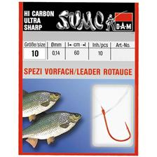 TROUT READY-MADE RIG DAM SUMO SPEZI ROTAUGE HAKEN ROT - PACK OF 10