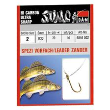 TROUT READY-MADE RIG DAM SUMO SPEZI ZANDER - PACK OF 10