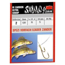 TROUT READY-MADE RIG DAM SUMO SPEZI ZANDER RYDER HAKEN - PACK OF 5