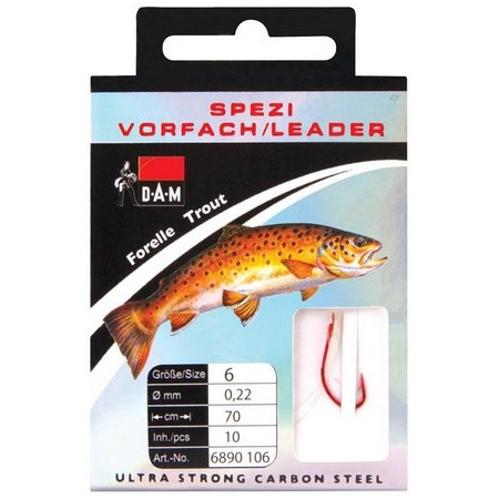TROUT READY-RIG DAM SPEZI FORELLE - PACK OF 10