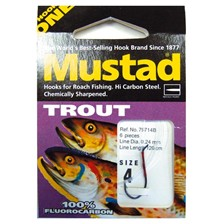 TROUT READY-RIG HOOK MUSTAD 79714B