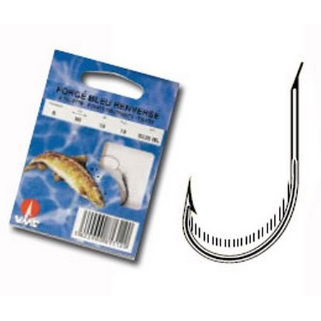 TROUT READY-RIG WATER QUEEN FORGE BLUE REVERSED WITH PALLET - PACK OF 10