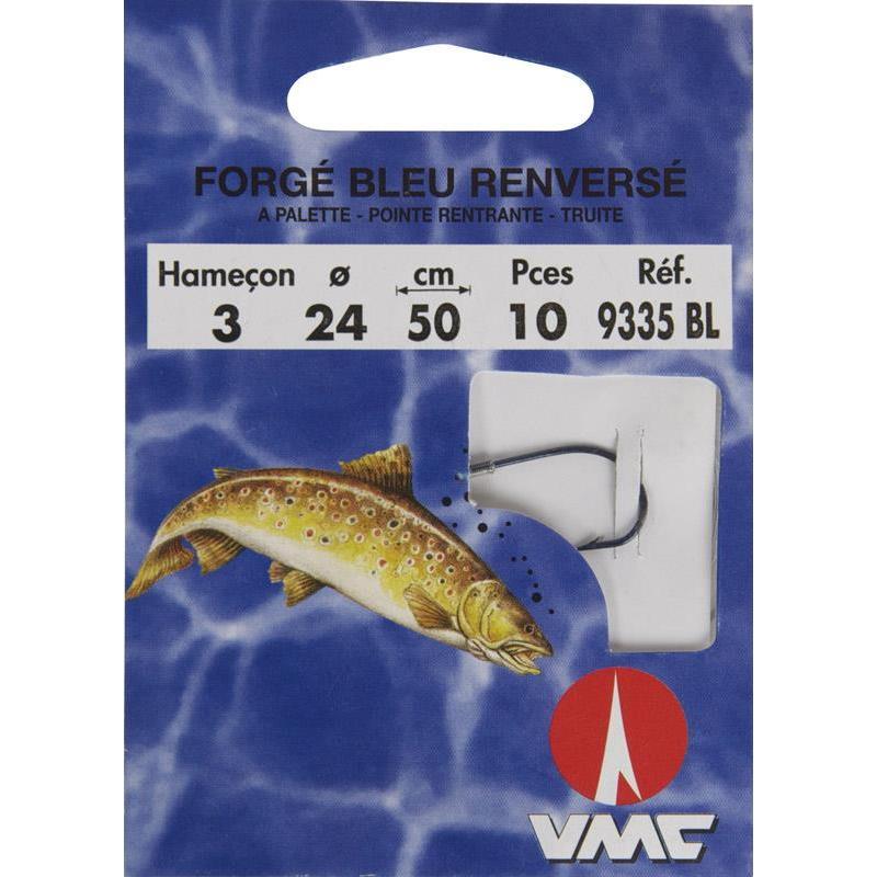 TROUT READY-RIG WATER QUEEN - PACK OF 10 - N°  6 - Diameter 22/100
