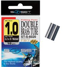 TUBITOS DOBLES SUNSET DOUBLE BRASS TUBE ST-S-6020