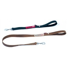 TWO PLY OILED FLESH SPLIT LEATHER EXPEDITION COLLECTION DOG LEASH EXPEDITION