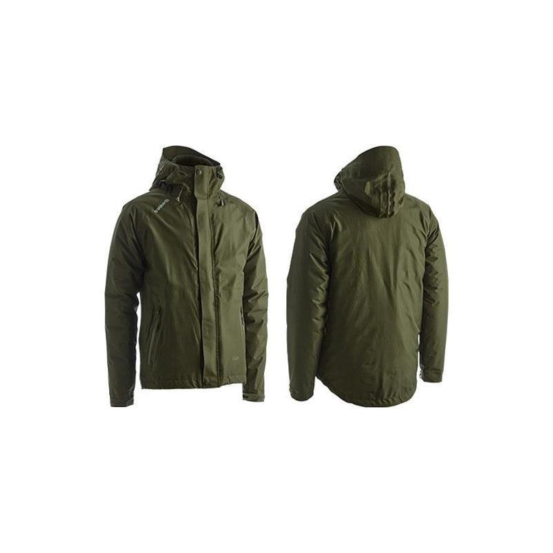 Trakker Summit XP Jacket Waterproof Hooded Coat Fishing Medium Size