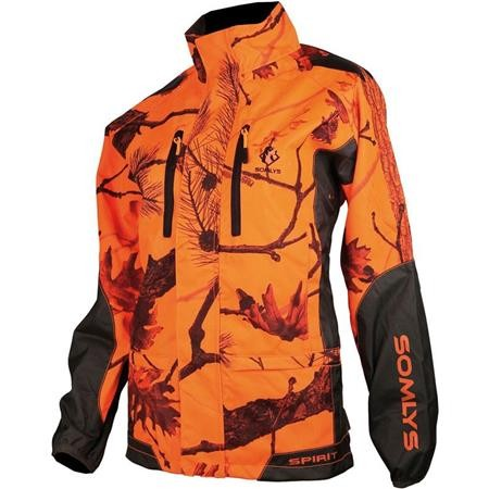 VESTE DE TRAQUE FEMME SOMLYS 429 LADY - CAMOU ORANGE