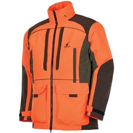 VESTE DE TRAQUE HOMME STAGUNT TRACKLIGHT JKT - ORANGE