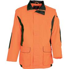 VESTE DE TRAQUE PERCUSSION RENFORT - ORANGE