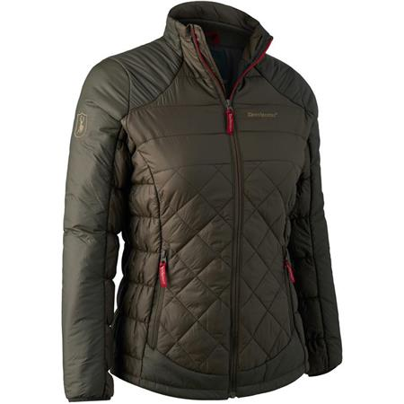 VESTE FEMME DEERHUNTER LADY CHRISTINE QUILTED JACKET - DARK ELM