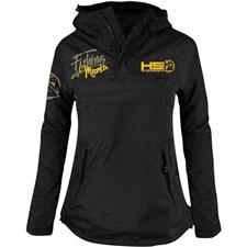 VESTE FEMME HOT SPOT DESIGN ANORAK FISHING MANIA - NOIR