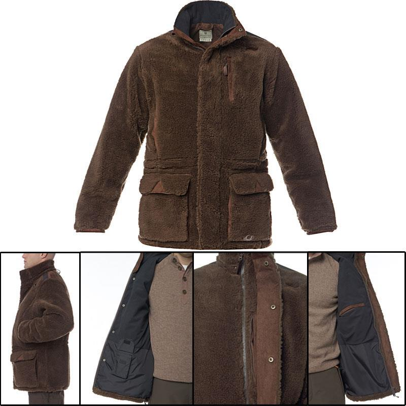 veste homme beretta polaire bear windshield marron. Black Bedroom Furniture Sets. Home Design Ideas