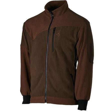 VESTE HOMME BROWNING POWERFLEECE ONE - VERT/MARRON