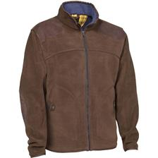 VESTE HOMME CLUB INTERCHASSE STUART - MARRON