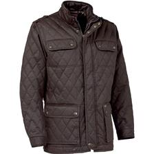 VESTE HOMME CLUB INTERCHASSE SULLY - MARRON