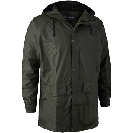 VESTE HOMME DEERHUNTER HURRICANE RAIN JACKET - ART GREEN