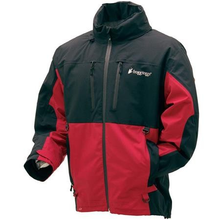 VESTE HOMME FROGG TOGGS PILOT GUIDE - ROUGE