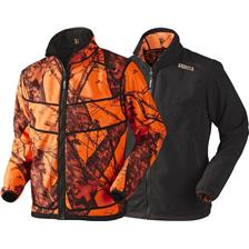 VESTE HOMME HARKILA GRIZZLY REVERSIBLE - CAMOU ORANGE
