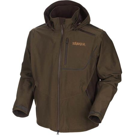 VESTE HOMME HARKILA MOUNTAIN HUNTER - VERT/MARRON