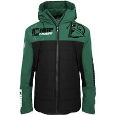 VESTE HOMME HOT SPOT DESIGN CARPFISHING ECO - NOIR/VERT