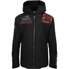 VESTE HOMME HOT SPOT DESIGN SPINNING ADRENALINE - NOIR/ROUGE