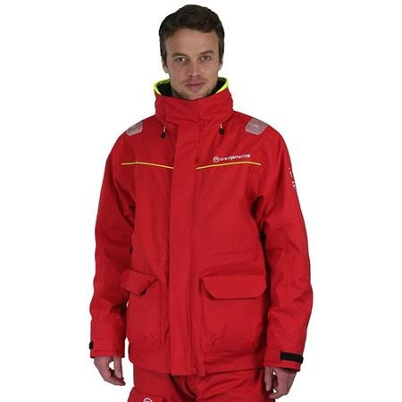 VESTE HOMME ORANGE MARINE COASTAL - ROUGE