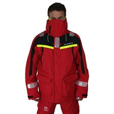 VESTE HOMME ORANGE MARINE OFFSHORE - ROUGE/NOIR