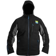Apparel Preston Innovations WINDPROOF HOODED FLEECE NOIR M