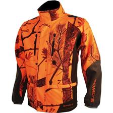 VESTE HOMME SOMLYS 441N SOFTSHELL - CAMO ORANGE