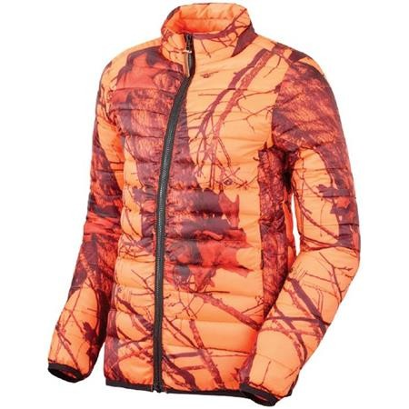 VESTE JUNIOR STAGUNT WARMI KID - ORANGE CAMOU