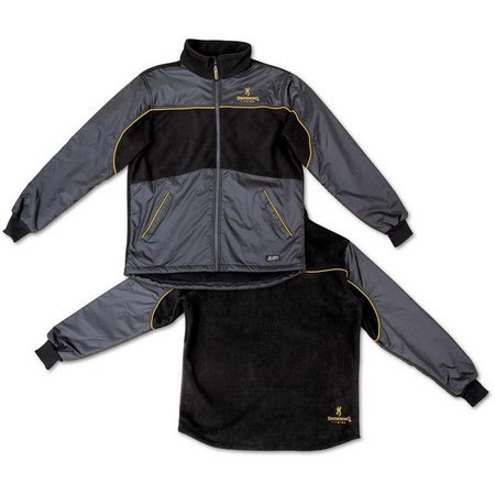 VESTE POLAIRE HOMME BROWNING XI-DRY - NOIR
