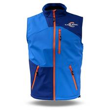 Apparel Colmic SOFTSHELL OFFICIAL TEAM VESTE SANS MANCHE HOMME IMPERMEABLE BLEU XXXL