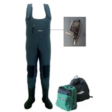 Apparel Astucit WADERS NEOPRENE BOTTES CAOUTCHOUC + SAC A DOS POINTURE 38/39