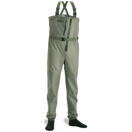 WADERS RESPIRANT VISION IKON ZIP STOCKING