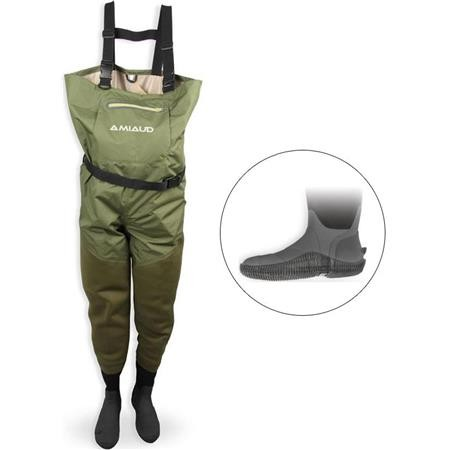 WADERS STOCKING NEOPRENE/RESPIRANT PIKE'N BASS
