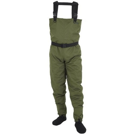 WADERS STOCKING RESPIRANT HYDROX FIRST - OLIVE FONCE