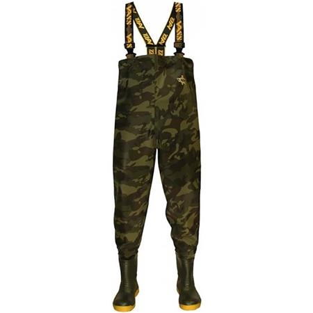 WADERS VASS TEX 785 CAMOUFLAGE CHEST WADER