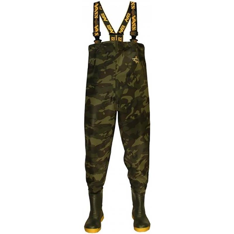 WADERS VASS TEX 800 CAMOUFLAGE CHEST WADER - 42