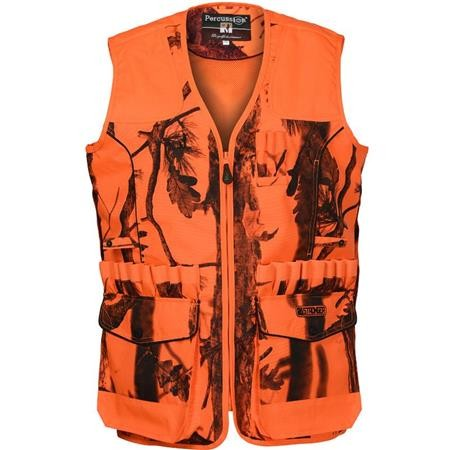 WAISTCOAT OF TRACKING PERCUSSION STRONGER - GHOST CAMO
