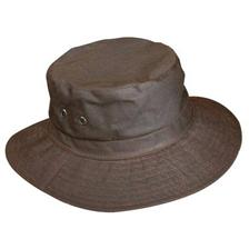 WAXED COTTON HAT JMC