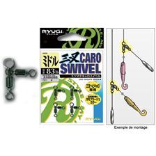 WIRBEL RYUGI CARO SWIVEL - 4ER PACK
