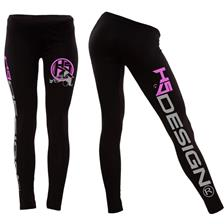 WOMAN PANTS HOT SPOT DESIGN LADY ANGLER - BLACK
