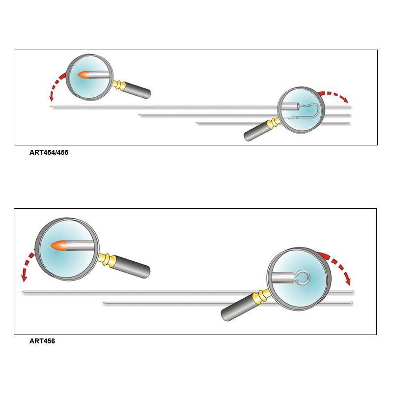 Worm needle stonfo