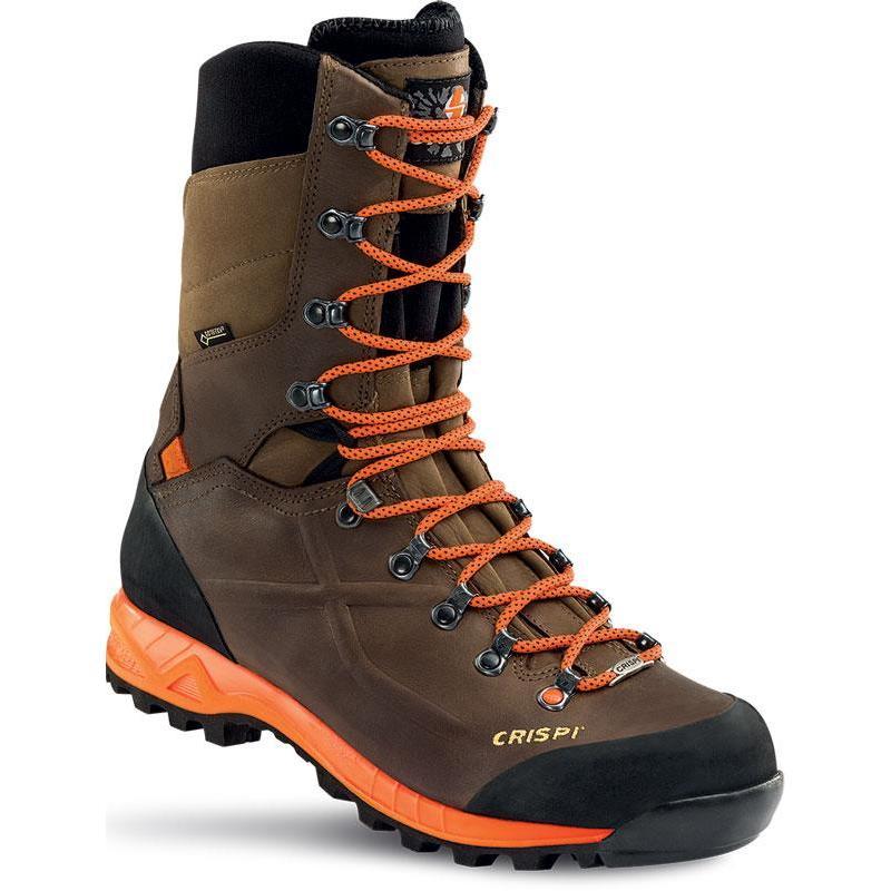 CRISPI Zapatos de Caza Para Hombre Marrón Marrón E1hRupE